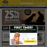25% off Black Hawk Dog & Cat Food + $4.99 Delivery ($0 with $50 Order) @ My Pet Warehouse