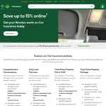 10000 Rewards Points (Worth $50) with New Comprehensive Car Insurance Policy @ Woolworths Insurance