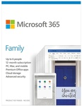 Microsoft 365 Family 6 PC or Mac 1 Year Subscription (Email License) $97 (RRP $129) @ SaveOnIT