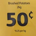 [NSW] 2kg Brushed Potatoes Bag, $0.50 ($0.25/kg) @ Coles Manly Peninsula
