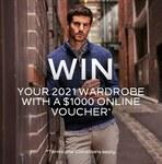 Win a $1,000 Voucher from Van Heusen