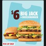 Big Jack + Cheeseburger $6 (Normally ~$11) @ Hungry Jack's via App