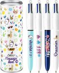 BIC 4-Colour Ball Pen Assorted Designs, 8 Pens $15 (RRP $25) + Delivery ($0 with Prime / $39 Spend)