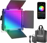 Neewer 660 RGB LED Light with APP Control, 660 SMD LEDs CRI95 US$56.22 (~A$85.88) Delivered @ NEEWER AliExpress