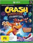 [XB1] Crash Bandicoot 4: It's about Time $24.98 + Delivery (Free with Prime/ $39 Spend) @ Amazon AU