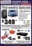 This Week's Special 8GB USB Drive - $6.95, AMD 2.8GHz PC with Monitor No OS - $349