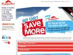 10% or 15% off Thredbo Ski 2-7 Day Lift Passes (Purchase 7 or 28 Respective Days in Advance)