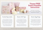 Free Downloadable Easter Printables from Tiny Me