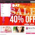 40% off everything at Prestige Cosmetics Australia