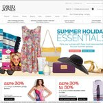 David Jones 1 Day Sale. Save a Further 20% off Luggage When You Spend $150 or More Online