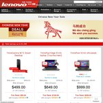 Lenovo Chinese New Year 2014 Sale (5% - 30% off for ThinkPad and ThinkCentre)