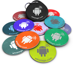 $9.89 10 NFC TAGS (w/ Topaz 512 NFC chip) + FREE Bonus Tag + FREE NFC Keychain @ WhizTags