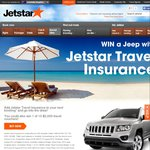 Win a Jeep and $2000 Travel Vouchers from Jetstar