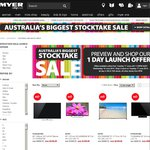 Myer Stocktake Sale - inc Launch Day Offers