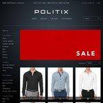Politix Stocktake Sale: 15-50% OFF - Limited Time Only