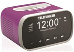 Telefunken iPhone 4 Docking Station w/ Alarm Clock Pink $9+DEL from $9 or SYD Pickup 2nds World