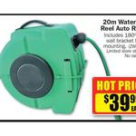 Repco Auto Retractable 20m Water Hose Reel $39.99 (Maybe $29.99: )