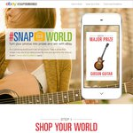 Win 1 of 13 Different Prizes Daily from eBay (Snap Your World)