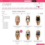 Robyn Lawley Swimwear - 30% off Selected Styles - Sizes 10 to 20, C to E Cup @ Curvy