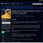 Drive Club AU $37.95 for PS+ Members on PS Store