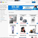 15% off Everything on eBay Appliances Online Store