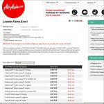 "AirAsia ""Lowest Fares EVER"" Sale. Fly to Asia from $67"