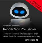 Disney Pixar's RenderMan now FREE for Everyone (Was $495)