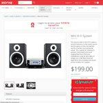 SONIQ Mini Hi Fi System - $199 + $30 Delivery (~80% off Save $800)