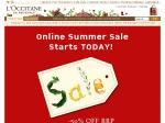 L'Occitane - 50% off RRP on Selected Merchandise