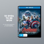 Win 1 of 10 Marvel's Avengers Age of Ultron DVDs from Target