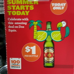 Dos Equis 330ml bottle $1 @ BWS (Today Only)