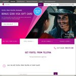 $200 VISA Gift Card When You Get Foxtel with Telstra