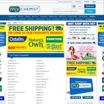 My Chemist Free Shipping & 50% off Select Brands