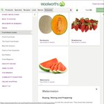 90c/Kg Watermelon @ Woolworths (Hurstville NSW)