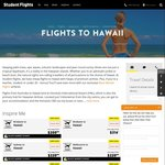 SYD/BNE to Hawaii Return from $399 (Students or under 26) or $431 (over 26) @ Student Flights