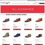 Florsheim - Extra 20% off The Already Reduced Price of All Clearance Items