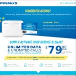 Auspost iPrimus Promotion - Unlimited Plan (ADSL or 25/5 NBN) $79.90pm with $0 Set-up Fee on a No Lock-in Contract