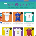 Popbaby - Movie Inspired Baby Clothes - 20% off Storewide until June 30