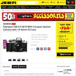 Olympus E-M10 Mkii $764.15 w 14-42mm EZ Lens @ JB Hi-Fi