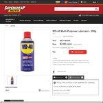 WD-40 Multi-Purpose Lubricant 255g $3 (RRP $5.77) @ Supercheap Auto