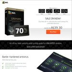 AVG Ultimate A $39.30 Unlimited Devices PC, Phone & Tablets (1 Year Subscription Plan)