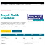 Optus Prepaid Mobile Broadband - $130 for 44GB - 2 Year Expiry