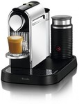 Nespresso Citiz Coffee Machine - Chrome + $2 Sim - $301 @ Harvey Norman ($131 After $100 AMEX &  $70 Nespresso cashback)