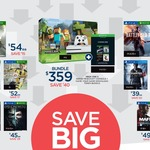 Big W 'Big Savings on Games' Titanfall 2 $35 / Mafia 3 $49 / COD: IW $54 / Battlefield 1 $52 + More in Store