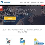 NordVPN Christmas Deal ~$105 AUD ($79 USD) for 2 yrs (72% off)