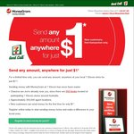 $1 (+ FX Rate Differential) to Send Money Internationally with Moneygram at 7-Eleven [New Customers]
