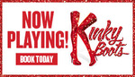 Tix to See Kinky Boots Melbourne $50 Plus Booking Fee, A Reserve Avail