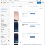 Samsung Galaxy S8 and S8 Plus $959.20 & $1079.20 C&C or + $5.06 Shipping - The Good Guys eBay