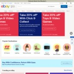 eBay 10% off Sitewide (Min $75 Spend, Max $300 Discount)