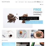 15% off Coffee Beans + Free Shipping - Industry Beans Specialty Coffee Roasters (Minimum Order $20)